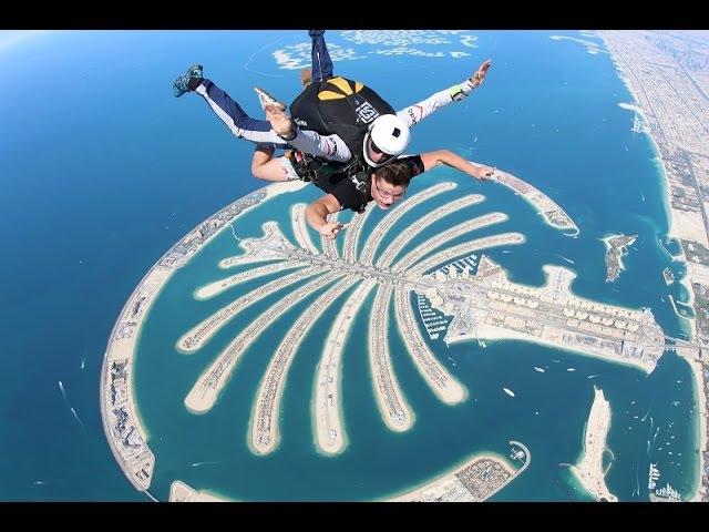 Aleksei Barbakar. My Jump the Palm of DUBAI.