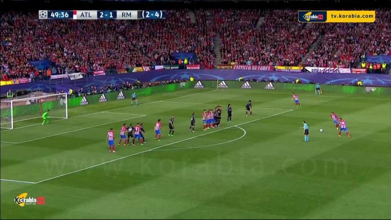 ملخص مباراة الديربي اتلتيكو مدريد 2 1 ريال مدريد اياب نصف نهائي دوري ابطال اوروبا تعليق علي سعيد الكعبي