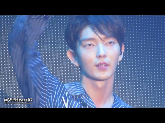 20170304 LEE JOON GI Thank You Asia Tour Singapore FOR YOU 너를 위해