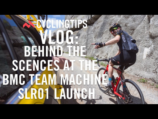 Behind the scenes at the BMC Team Machine SLR01 launch with Cadel Evans