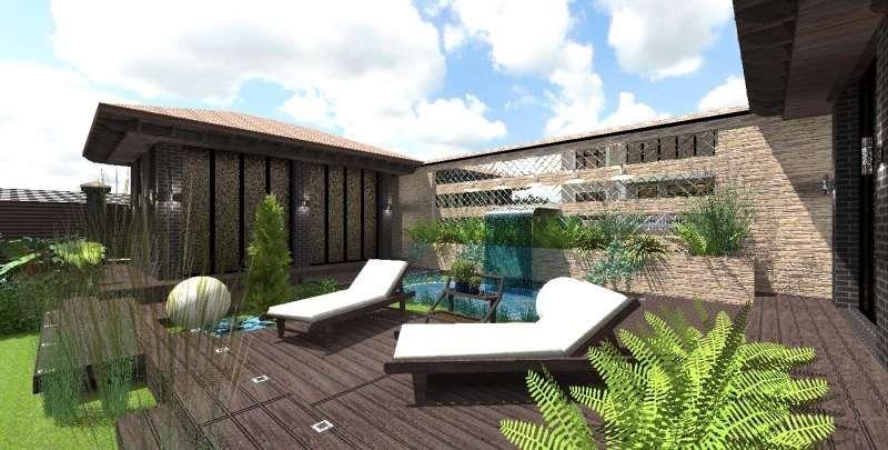 Идея ландшафтного дизайна. Сад в современном стиле, изображение №3