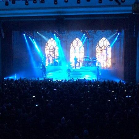 Poe Zest on Instagram Ghost Saturday May 5 2018 Happy Cinco de Drinko ghostband ghost riversidemunicipalauditorium metal swedishmetal conce