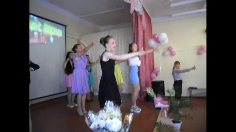 Выпускной в 9 классе 2018. Василиса не танцует чику рику