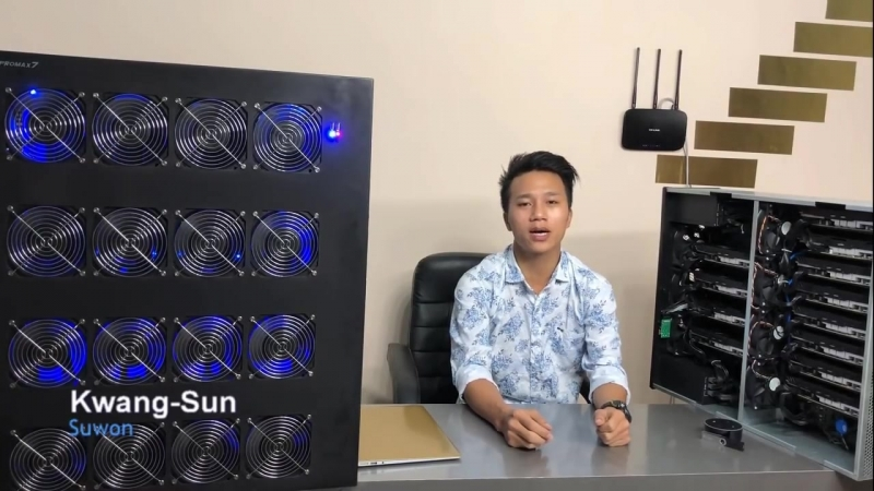 12 GPU Ethereum Miner Comparision Vs Promax7 2 ETH Miner смотреть онлайн без регистрации