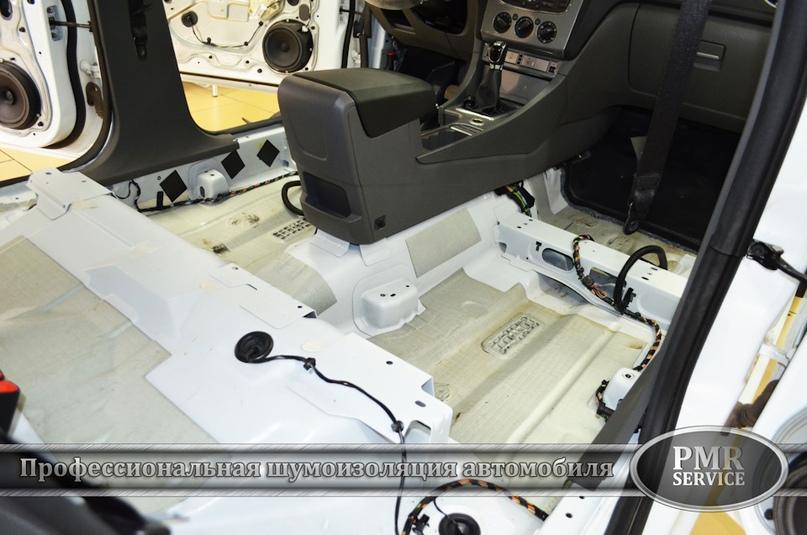 Шумоизоляция Ford Focus 2, изображение №3