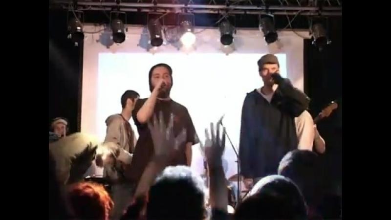 2007 04 28 DC MC x ДаБац x JahGun Band live Презентация cd DC MC Ikra Club Москва