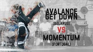 Avalanche Get Down (Belarus) vs Momentum (Portugal) | Group B | Warsaw Challenge 2018