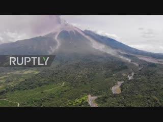 Guatemalathousands flee as 'fuego' volcano erupts