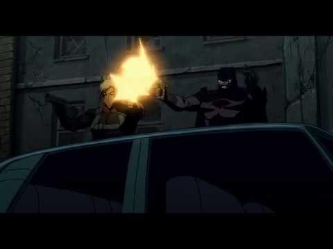 Batman And Grifter vs Black Manta Justice League The Flashpoint Paradox
