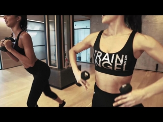 Train like an angel work it with lais & megan roup of the sculpt society!