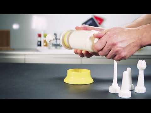 Cream whipper-decorator DELÍCIA