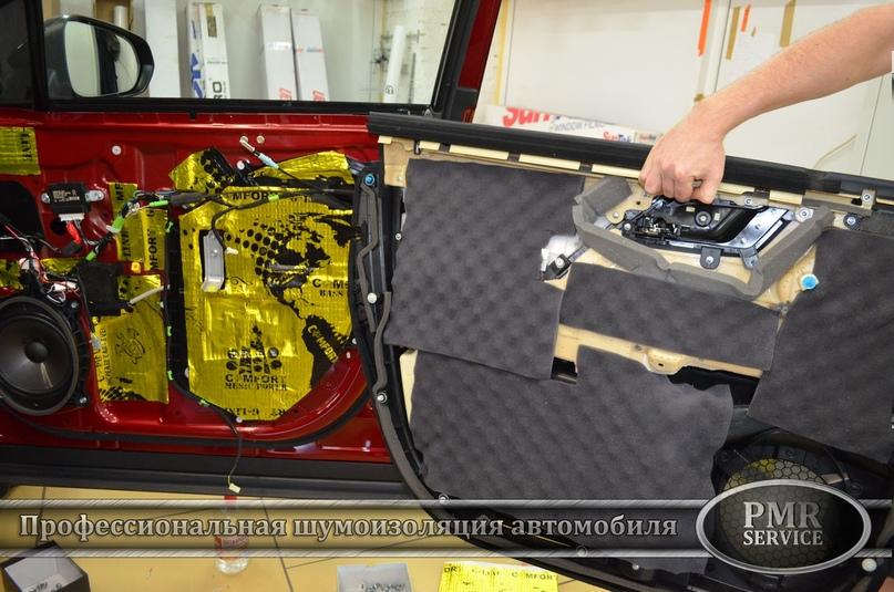 Комплексная шумоизоляция Lexus RX, изображение №19