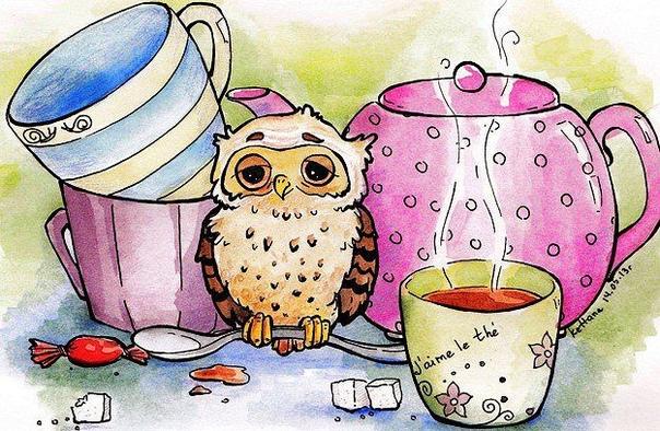 Картинки с чаем с приколом