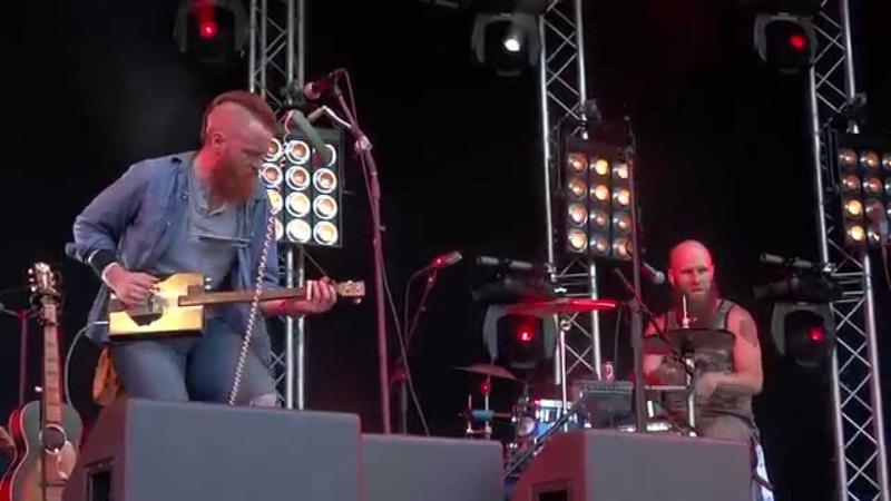 Ben Miller Band - Get Right Church - Roots in the Park 2015 - Utrecht