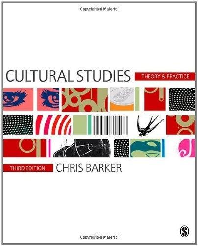 Chris Barker Cultural Studies
