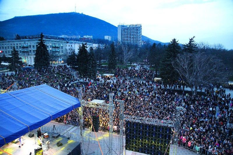 Крымские артисты выступили в Пятигорске, изображение №1