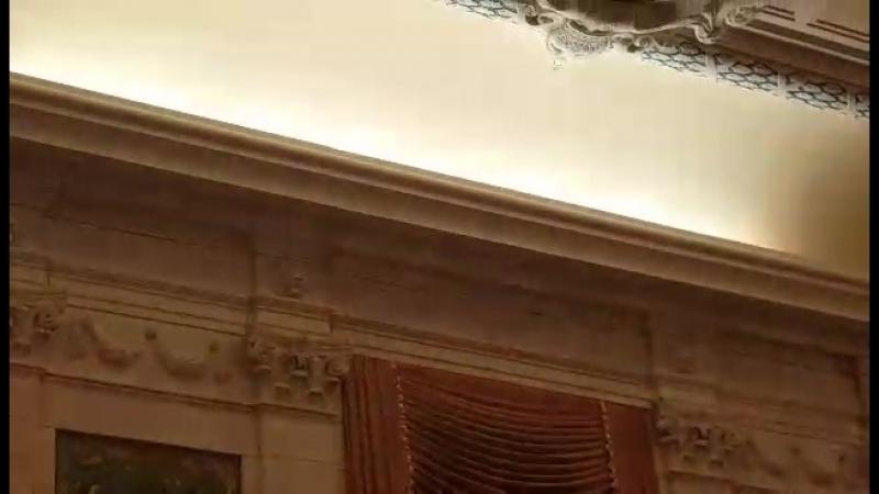 Нашел видео Святкаванне 100 годзя 2018 Беларускай Народнай Рэспублики у Атаве у Цэнтральным будынку Канадыйскага парламента. Спя