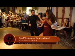Esref Tekinalp and Vanessa Gauch 3-4, RTF 2017, Tomsk