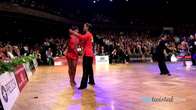 Nino Langella - Kristina Moshenskaya, GOC Stuttgart 2012, Grand Slam latin, semifinal - chachacha
