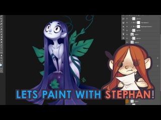 Lets Paint a Grape Fairy!
