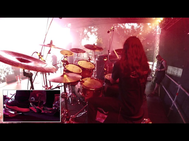Benighted - Experience Your Flesh - Drum cam