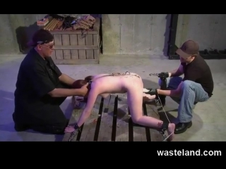 BDSM_Master_Trains_Dungeon_Apprentice_How_To_Flog_And_Sexually_Torment_Girl-480p