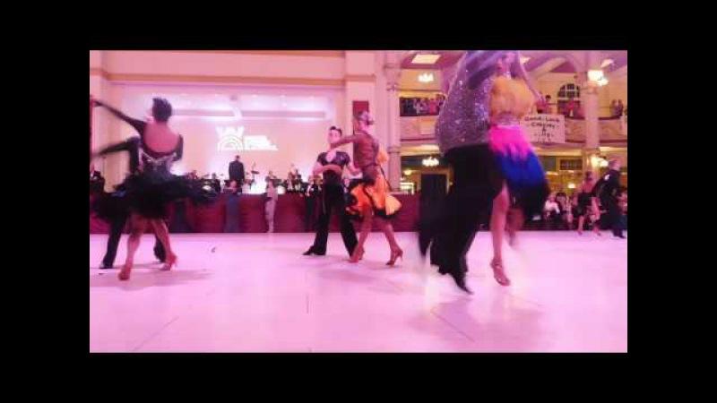 Artur Ravlyk Margita Solomiya Junior Blackpool dance festival 2017