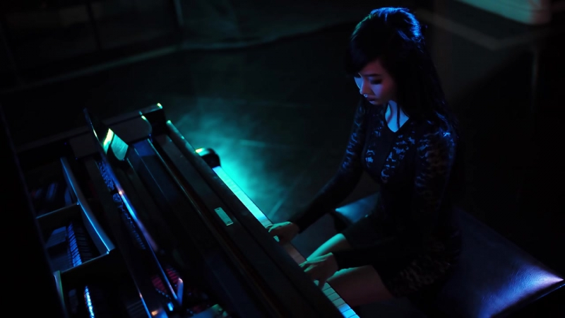 017 Alodia Crazy in Love piano cover Fifty Shades of Grey