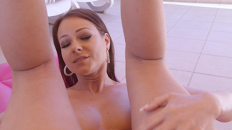Melisa Mendini ( Kristina Uhrinova, Lexa) Pink Matras Solo, Erotic, Posing, Close ups, Masturbation,