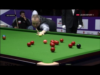 John Higgins 145 v Sydney Wilson International Championship 2016