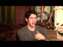 Nick Jonas Exclusive Interview w/ MTI - Playing Finch