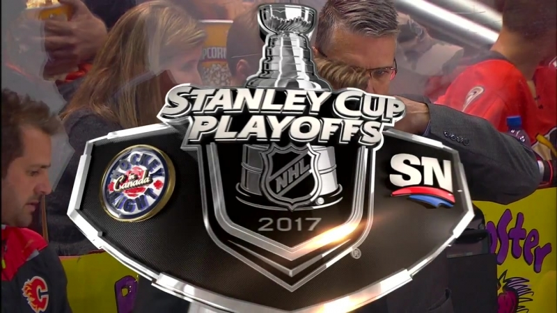 NHL SC 2017 Round 1 Game 2 15 04 2017 Calgary Flames vs Anaheim Ducks