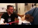 Girl proposes to nurse on anesthesia