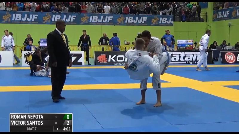 Roman Nepota vs Victor Santos