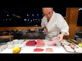 Sushi Omakase -PERFECT Japanese Food Sushi by Chef Hiroyuki Sato at Sri Panwa, Phuket!