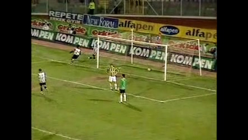 2005 - 2006 Sezonu - Ankaragücü-Beşiktaş dakika 86 gol Tümer Metin
