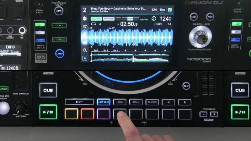 Denon DJ SC5000 Prime Tutorial