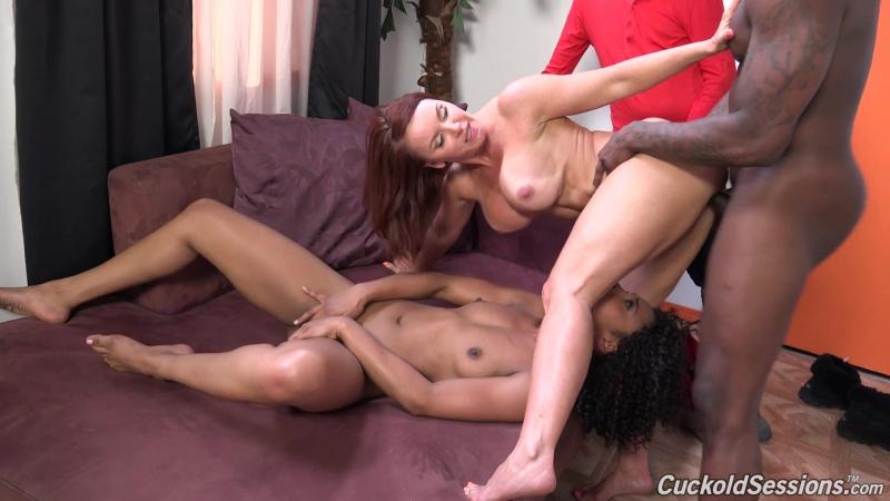 Cuckold Sessions Janet Mason, Misty Stone HD 1080, Big Tits, Black, Blowjob, Cougars, Cuckold, Ebony,