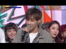 [뮤직뱅크] 3월 2주 1위 김성규 - 'True Love' 세리머니 Cut 20180312