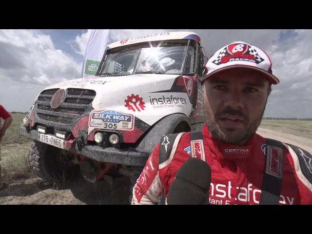 InstaForex Loprais Team Silk Way Rally 2017 Stage 7