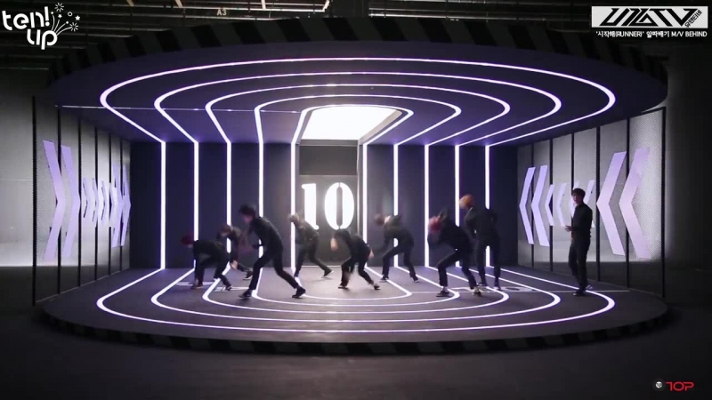 [Ten.Up!] U10TV ep131 – Место съемок MV Runner, переполненное шепотом парочек (рус.саб)