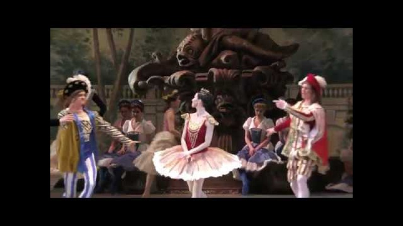 08 03 18 Viktoria Tereshkina Rose Adagio in Vikharev's the Sleeping Beauty