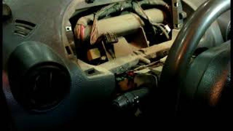 Замена мотора отопителя на рено логон