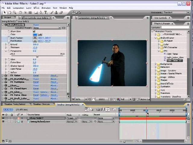 VideoCopilot -- Световой меч 2