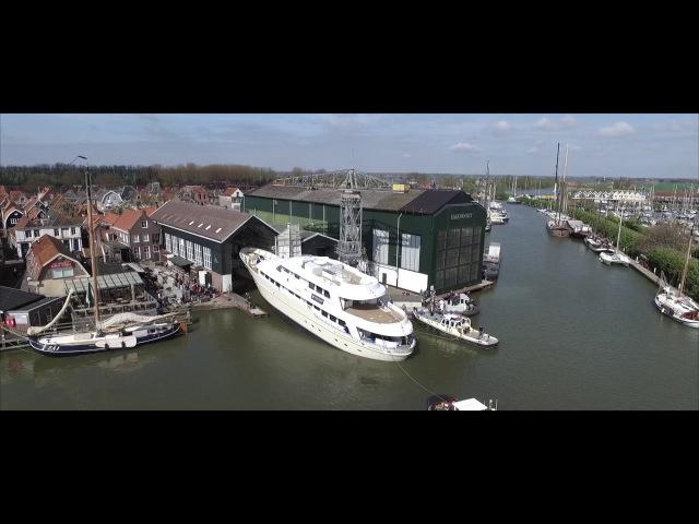 Hakvoort Shipyard launch MY Soprano смотреть онлайн без регистрации