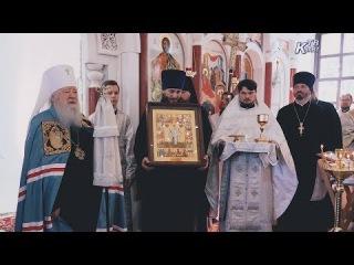 Освещение Богородицерождественского храма в Б.Белыничах. Зарайск