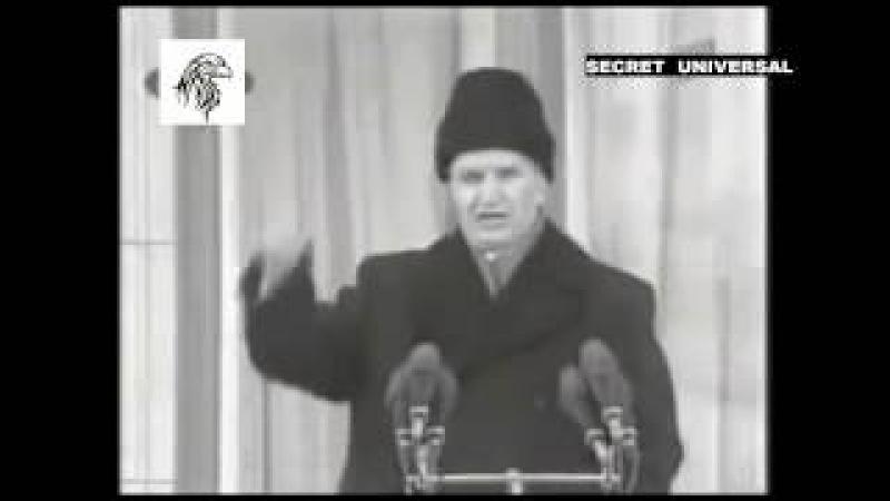Ascultă CUVINTELE lui Ceaușescu cu MARE ATENȚIE!
