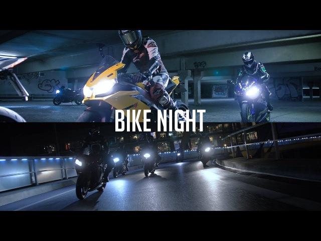 🔥Bike Night RSV4 S1000RR GSXR R6 ★MOTOZONE★ 4K