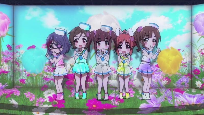 ED The Idolmaster Cinderella Girls Gekijou Идолмастер Театр девушек золушек 2