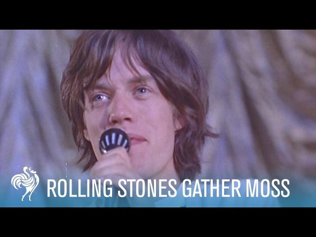 Rolling Stones Gather Moss (1964) | British Pathé